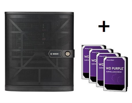 DIVAR IP all-in-one 5004 GP (Förinstallerad med 4x1TB)